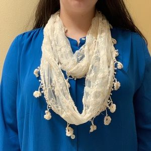 Lace Infinity Scarf (Scarf Sale!)